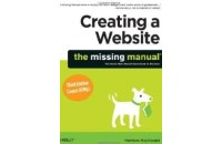 Creating a website: The Missing Manual book cover