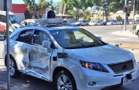 Self driving accident